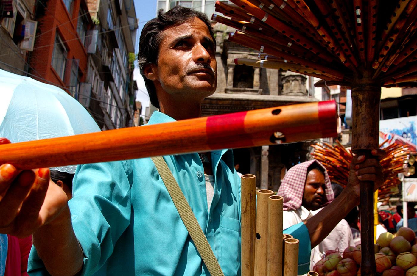 Fluit seller