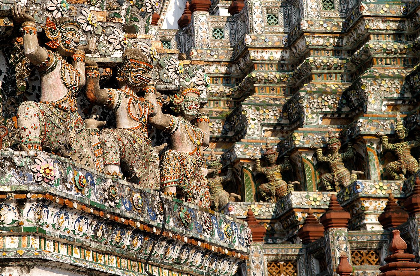 Temple Mozaic Bangkok
