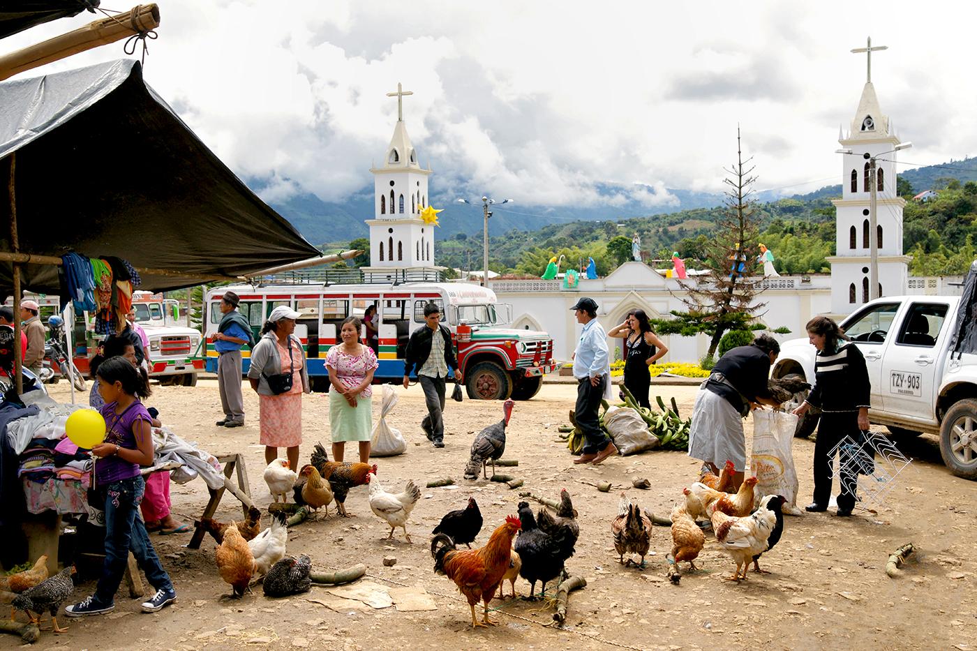 San Augustin Town square